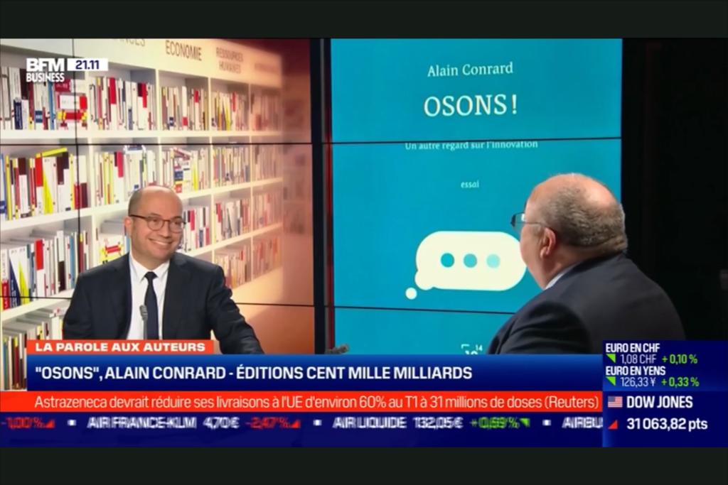 Alain Conrard sur BFM Business